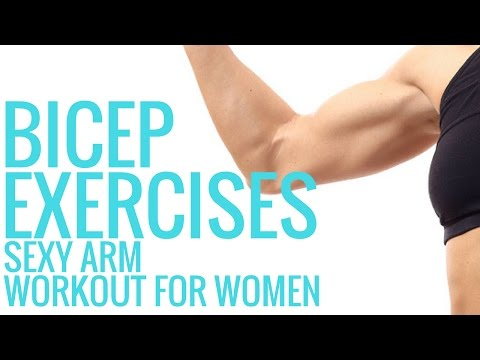 Workouts for Women - Bicep Exercises - Christina Carlyle