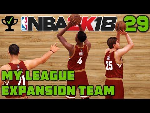 NBA 2K18 My League Ep. 29: A bright future [Realistic NBA 2K18 My League Expansion]