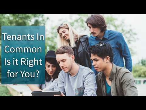 Tenants in Common Is it Right for You?