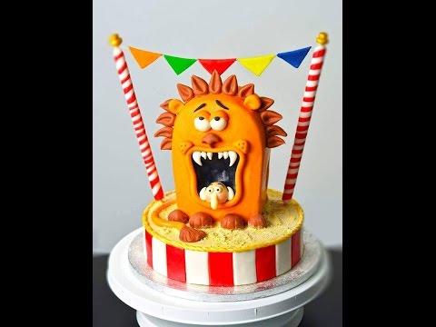 Circus Lion Cake Tutorial