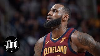 Rockets attractive to LeBron James in free agency? | The Jump | ESPN