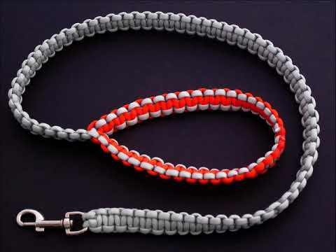 How to Make a Paracord Dog Leash by TIAT