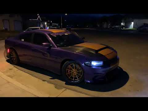 LOUD Straight Piped HELLCAT Charger