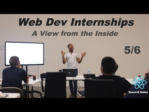 Life as a Front End Intern at Call Em All - ReactJS Dallas Tech Talk 5/6