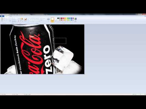 Make Labels with Microsoft paint & word