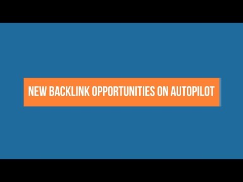 How To Get New Backlink Opportunities on Autopilot (backlink alerts & content alerts)