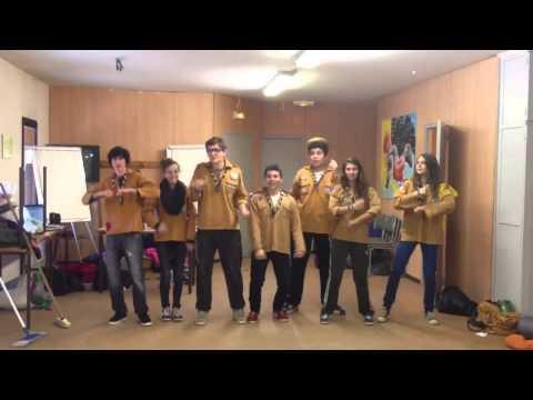 Gangnam style version pifs d'aix en provence