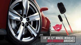 """12"""" & 18"""" Wheel Woolie Brushes - Detail King"""