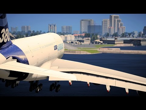 GTA 5 Mods - Flying A380 To Vice City with GTA 6 Graphics Mod! (4K)