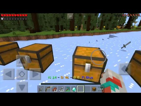 Minecraft PE 0.14 How To Get Unlimited DIAMONDS In Lifeboat Bounty Hunter Server
