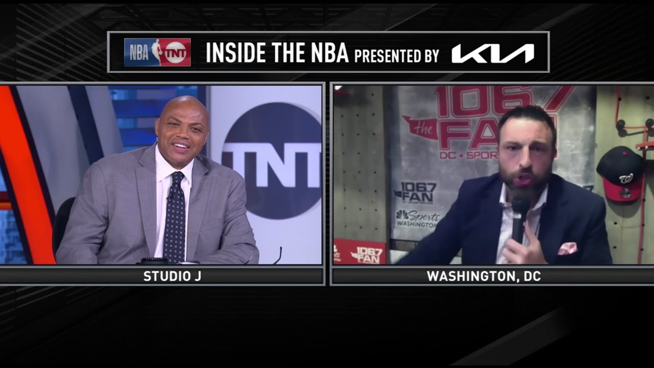 Chuck's Impersonator Returns To Interview Him | Inside The NBA