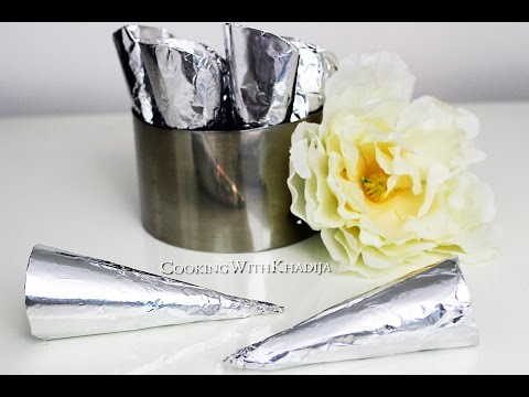 Make Your Own Cream Horn Mold - Zelf Hoorntjes Mallen Maken