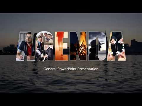 AGENDA PowerPoint Presentation Template