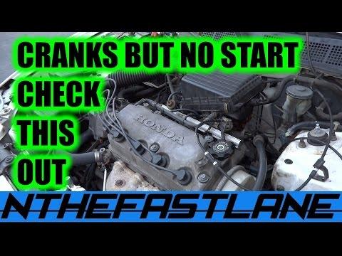 Cranks But Won't Start Honda (CPS)