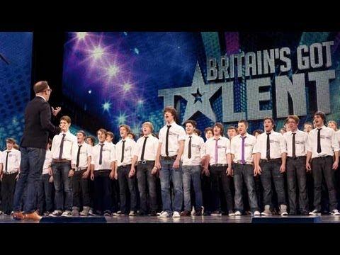 Only Boys Aloud - The Welsh choir's Britain's Got Talent 2012 audition - UK version