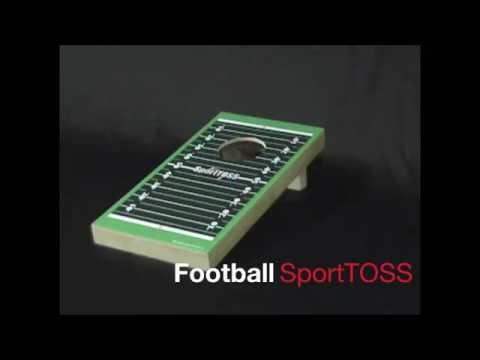 Indoor Sport Ideas. Desktop Sport TOSS Game (mini indoor corn hole, bean bag toss game)
