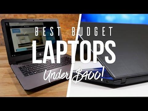 Top 5 Best Budget Laptops For Under $400 2017!