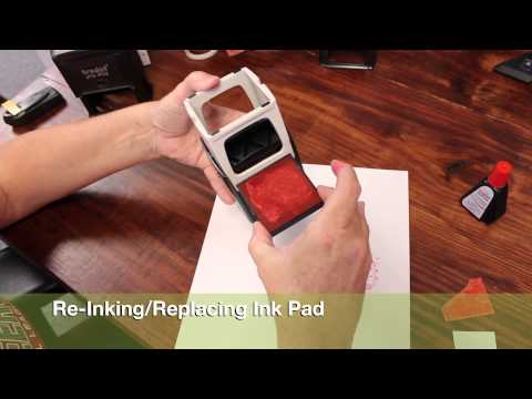 TUTORIAL : MAXSTAMP SQUARE SELF-INKING STAMP