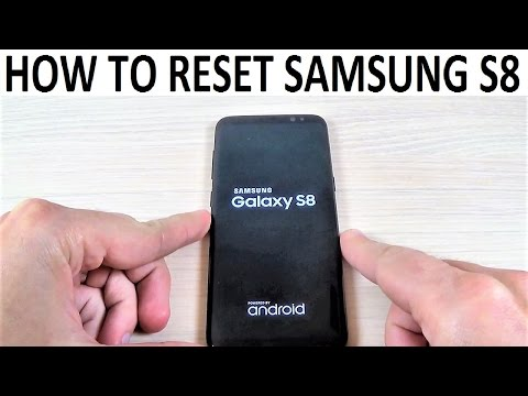 How to Reset Samsung Galaxy S8, S8+ | Factory Settings