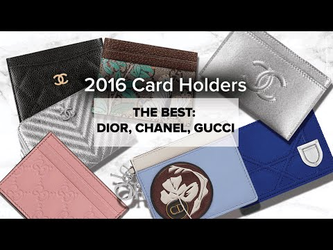 The Best LUXE Card Holders | CHANEL, GUCCI, DIOR