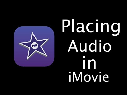 How to place audio tracks in iMovie for iOS