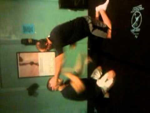 Mark Cherico working the jiu jitsu