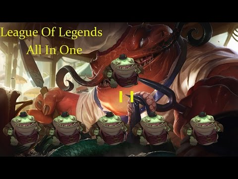 League Of Legends - Tahm Kench All in One One For All