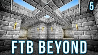 Water Wheel Power (FTB Continuum Let's Play Ep  7)