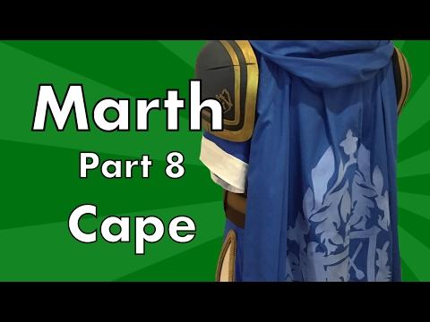 Marth Cosplay Tutorial: Part 8 Cape