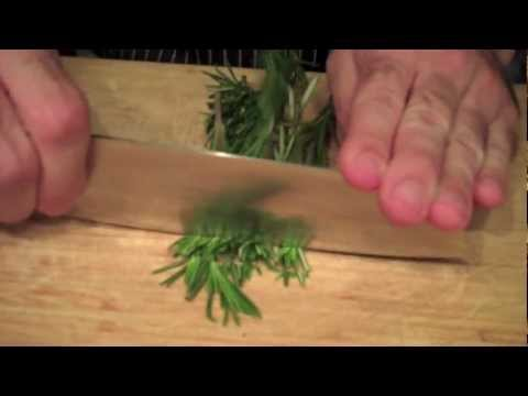 How to Make Aromatic Olive Oils - Rosemary