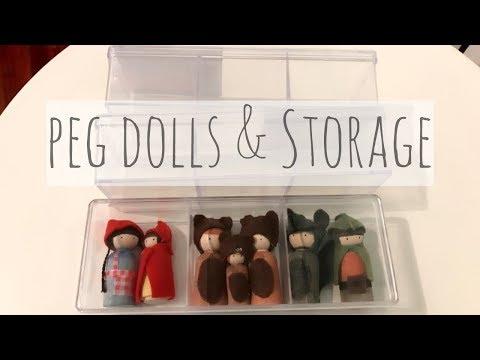 Peg Dolls Storage