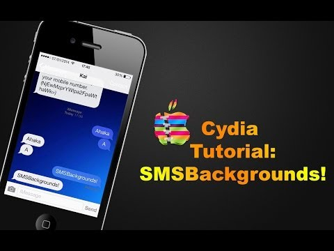 SMSBackgrounds |  iOS 7 Cydia Tutorial