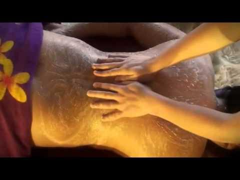 body polishes and scrub