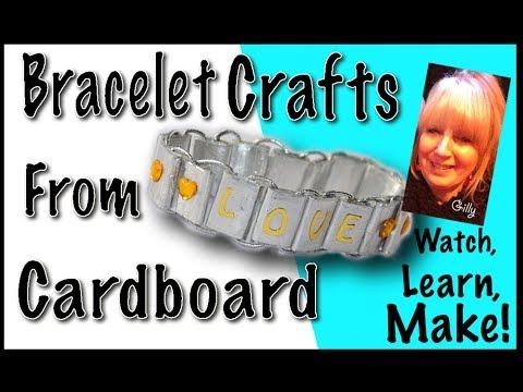 Bracelet Crafts - From Cardboard! (Easy To Do)