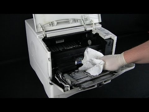 How to Clean Up Toner Spills