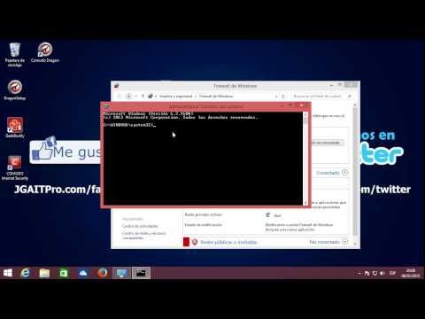 Restaurar configuración por defecto del Firewall de Windows 8.1