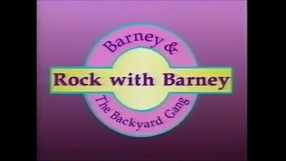 Barney And The Backyard Gang Theme Song barney & the backyard gang intro: flipnote studio 3d version