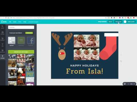 How to Create a Greeting Card on Canva
