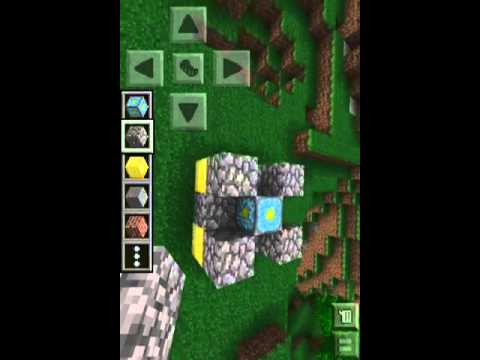 Minecraft-How to Build A Nether Portal In MC PE