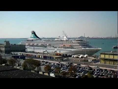 Venice Cruise Ship terminal (Video 1) by jonfromqueens