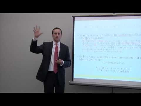 Drafting Contracts to Avoid Lawsuits by Coumbus Ohio Small Business Attorney