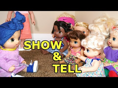 BABY ALIVE School Show N Tell Oakley Tells Class Why She Shaved Her Hair
