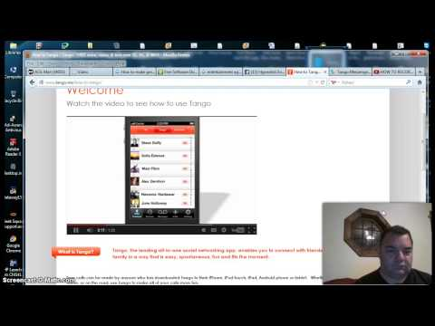How to use Tango Video Messaging