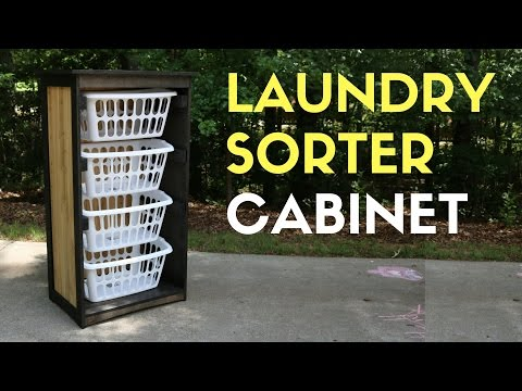 Laundry Basket Cabinet