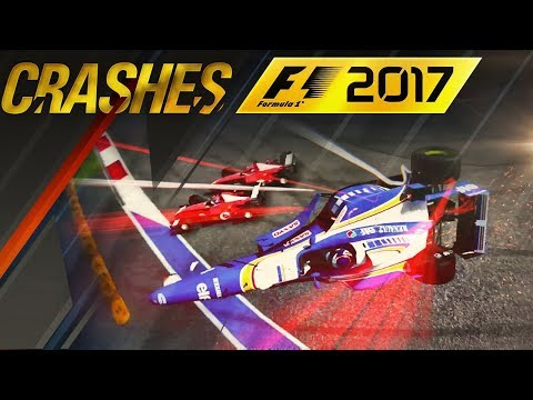 BIGGEST CRASHES, FAILS & GLITCHES OF F1 2017