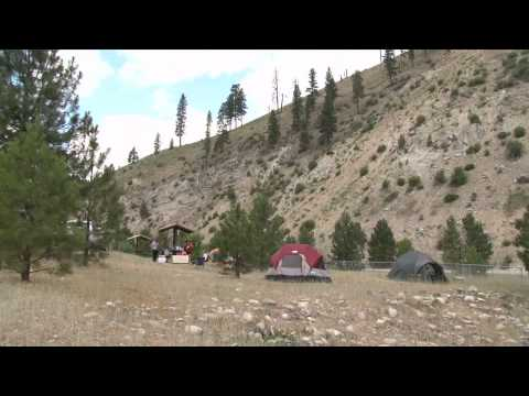 The Kirkham Campground on the Boise National Forest in Idaho