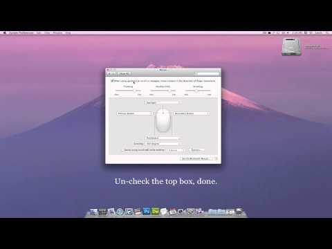 Change Scrolling Direction - Mac OS X Lion 10.7