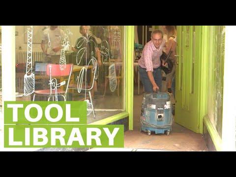 Tournevie Tool Library in Brussels Belgium
