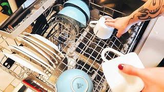Уход, загрузка посуды в посудомойку. Лучшие таблетки для ПММ - Senya Miro
