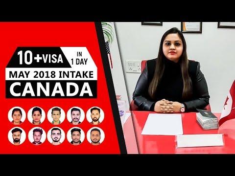 10 Canada Visa in 1 Day - May 2018 INTAKE
